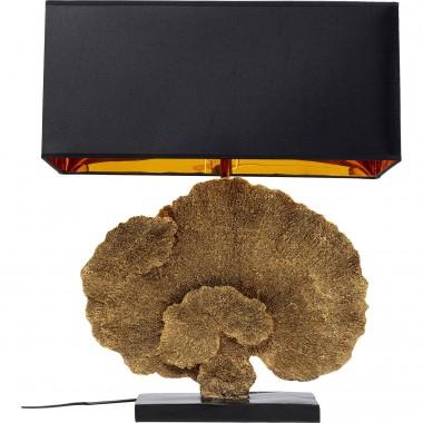 Candeeiro de Mesa Coral Dourado