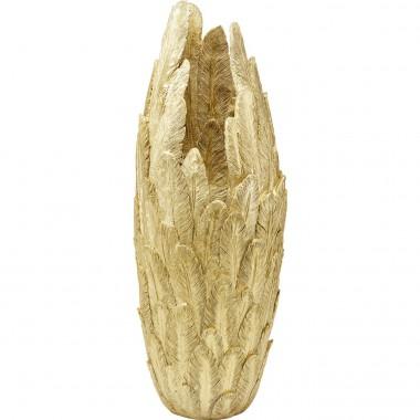 Vase plumes dorées XL 80cm Kare Design