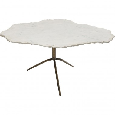 Table basse Terrazzo Cloud marbre blanc Kare Design