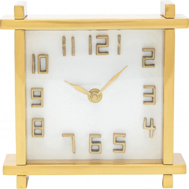 Horloge de table Angle 17cm Kare Design