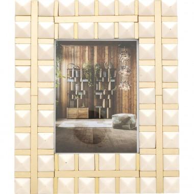 Cadre Harmony blanc 15x21cm Kare Design