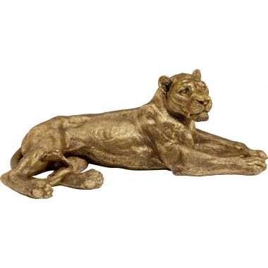 Peça Decorativa Lion Gold