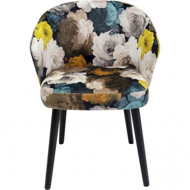 Cadeira de braços Peony Amarela