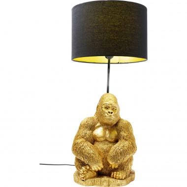 Candeeiro de Mesa Monkey Gorilla Gold