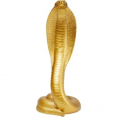 Peça Decorativa Snake Gold