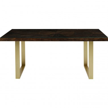 Table Conley pieds laiton 160x80cm Kare Design-85189 (6)