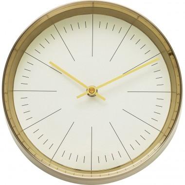 Relógio de Parede West Coast Dourado Ø21cm