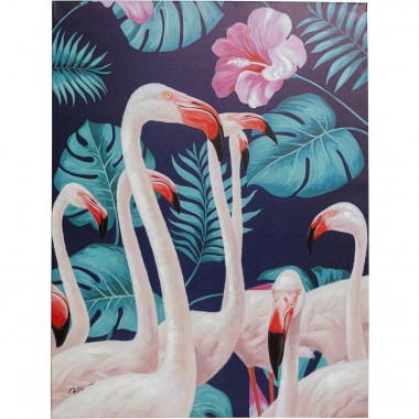 Tela a Óleo Flamingo Road Nature 122x92cm