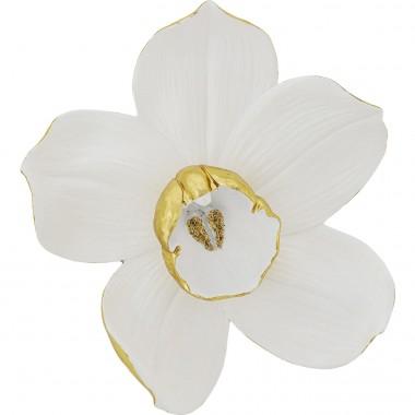 Decoração de Parede Orchid Branco 44cm