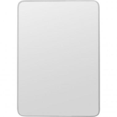 Espelho Jetset Square Prateado 94x64cm