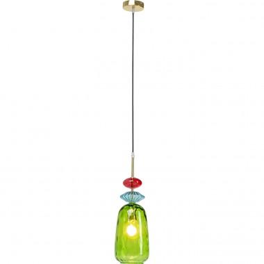 Candeeiro de Teto Goblet Colore Uno Verde