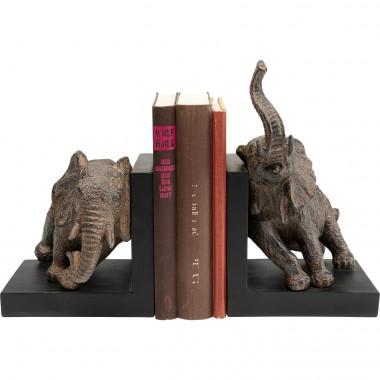 Aparador de Livros Elephants 42cm (2/Set)