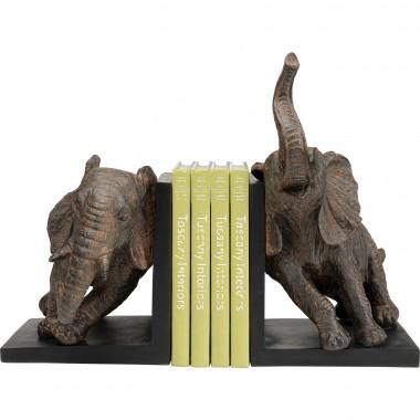Aparador de Livros Elephants 25cm (2/Set)