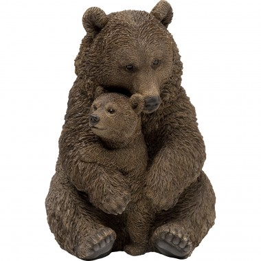 Objeto Decorativo Cuddle Bear Family 26cm