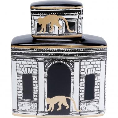 Deco Jar Temple 24cm