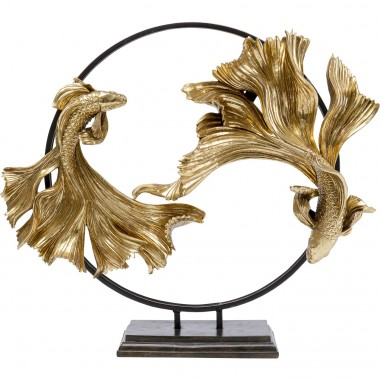 Objeto Decorativo Dancing Betta Fishes