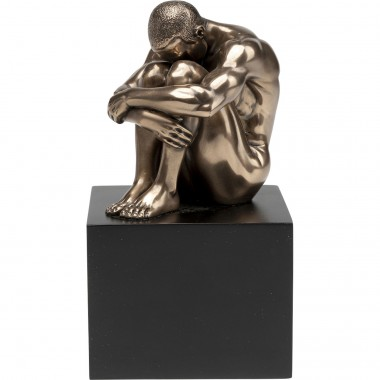 Objeto Decorativo Nude Man Thinking 10cm