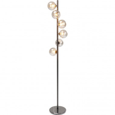 Candeeiro de Chão Scal Balls Preto 160cm-52508 (6)