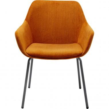 Cadeira de braços Avignon Laranja