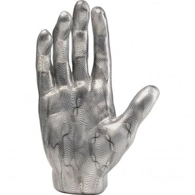 Peça Decorativa Hand Cinza