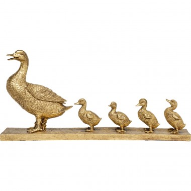 Objeto Decorativo Duck Family