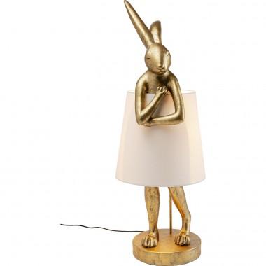 Candeeiro de Mesa Animal Rabbit Dourado 88cm-52523 (11)