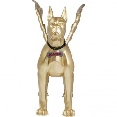 Objeto Decorativo Toto XL Dourado com asas