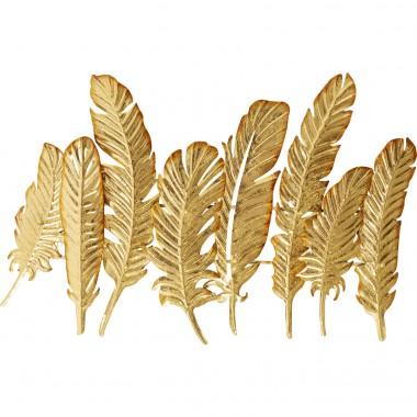 Cabide Leaf Dourado 86cm