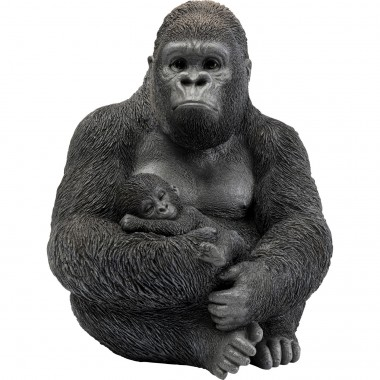 Objeto Decorativo Cuddle Gorilla Family
