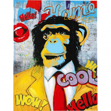 Quadro Touched Show Monkey 120x90cm