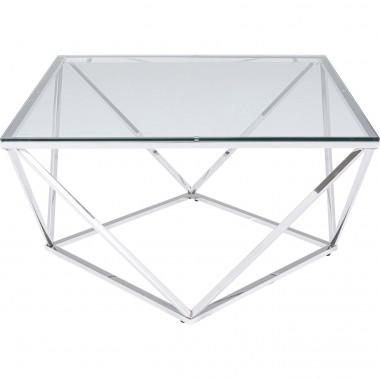 Mesa de Centro Cristallo 80x80cm
