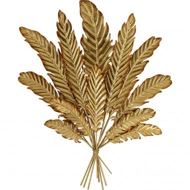 Decoração de Parede Leaf Bouquet Dourada