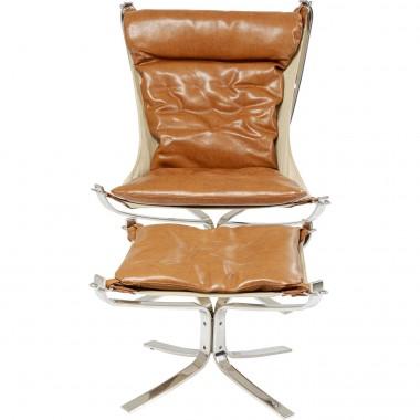 Cadeira + Banco Washington Castanho