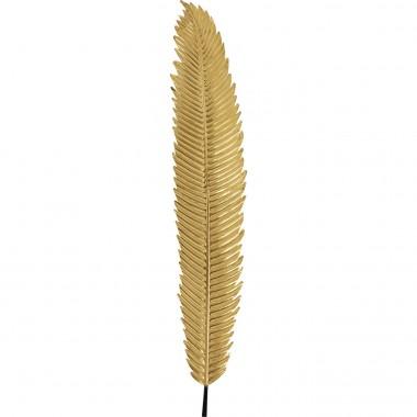 Decoração de Parede Leaf Dourado 196cm