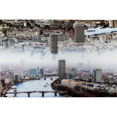 Quadro em vidro London Duplo 120x80 cm