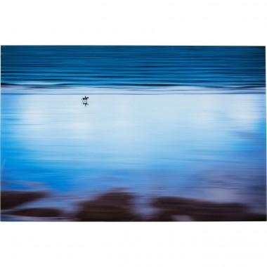 Quadro em vidro Lonely Beach 80x120 cm Design Kare