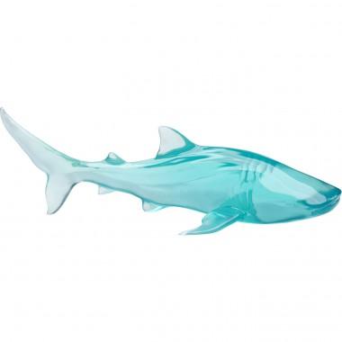 Objet décoratif Visible Whale bleu
