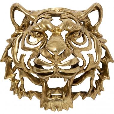 Décoration murale Tiger doré