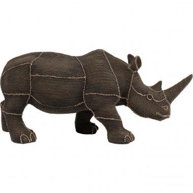Peça Decorativa Rhino Rivets Pearls