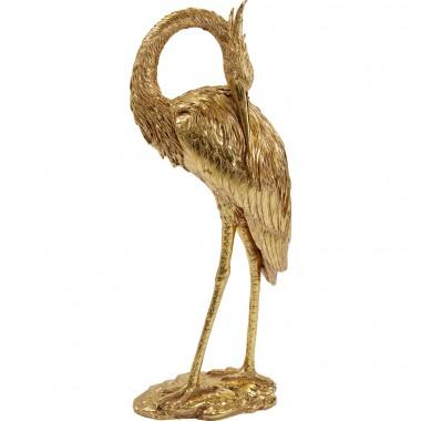 Objet décoratif Crane doré