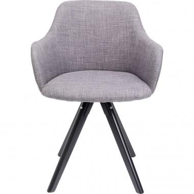 Cadeira Giratória Lady Loco Cinzenta