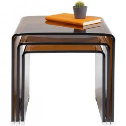 Mesa de três conjuntos Visible Âmbar (3 / conjunto)