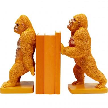 Serra-livros Gorilla Orange (2 / conjunto)-52301 (12)
