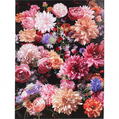 Tela a óleo Flower Bouquet 120x90cm