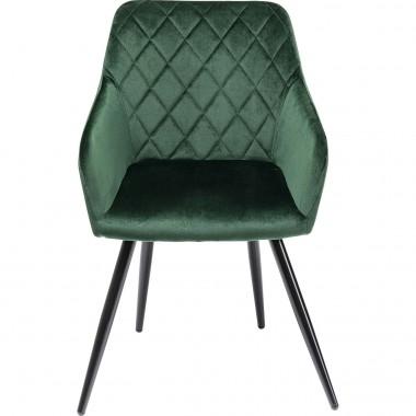 Cadeira De Braços Bretagne Verde Kare Design