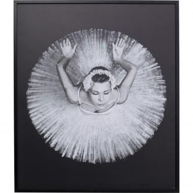 Quadro Com Moldura Dancing Ballerina 120x100cm