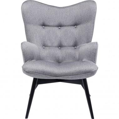 Cadeira Com Braços Vicky Loco Cinzenta