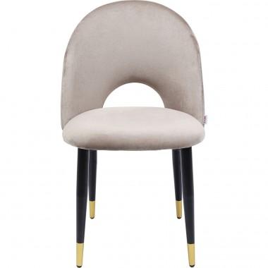 Cadeira Iris Velvet Bege-80080 (9)