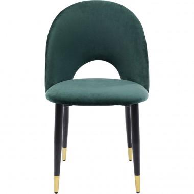 Cadeira Iris Velvet Verde