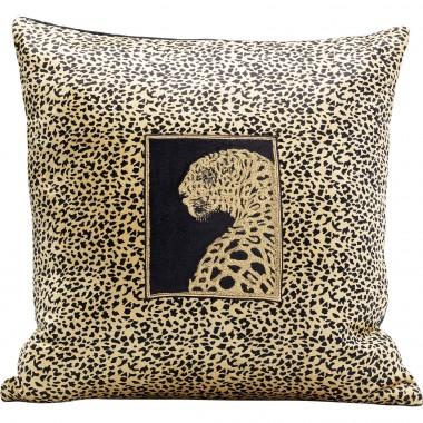 Almofada Leopard Face 45x45cm